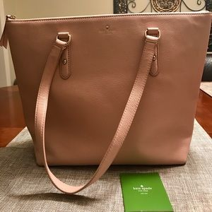 Kate Spade Penny Larchmont Avenue Pink tote